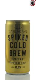 Café Agave Spiked Cold Brew Coffee Espresso Shot 187ml