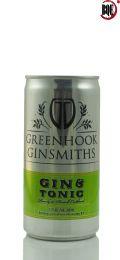 Greenhook Ginsmiths Gin & Tonic 200ml