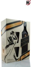 Johnnie Walker Black Label 12 YRS 750ml Gift Set