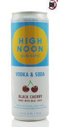 High Noon Black Cherry Vodka & Soda 355ml